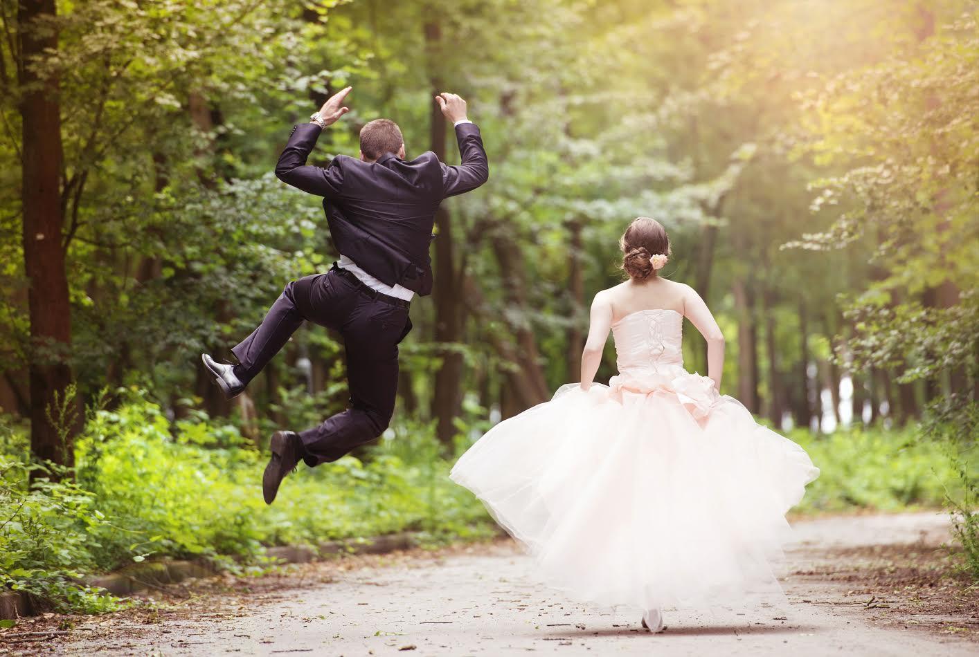 Naturnära bröllop på Branta Berg